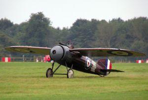 Bristol M1C after its display.