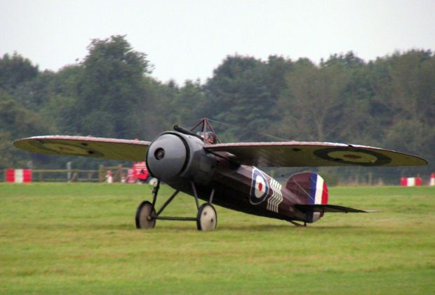 Bristol M1C, the Monoplane in which Travers was believed to have flown for a number of his victories.