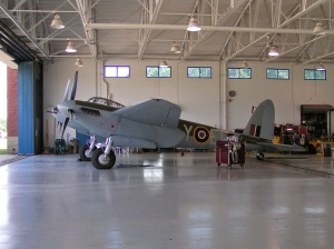 KA114 in the Fighter Factory Hangar