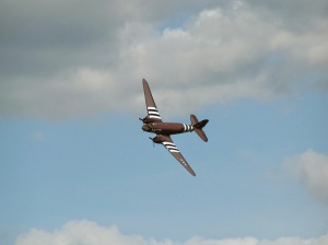 """Whiskey 7"" performing a solo display."