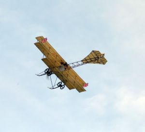 The Avro Triplane During its display.