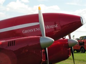 """""""Grosvenor House"""" Sitting on the line at Old Warden."""
