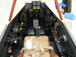 Hornet cockpit interior