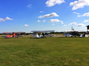 A Selection of de Havilland Moths at my local airfield, Headcorn.