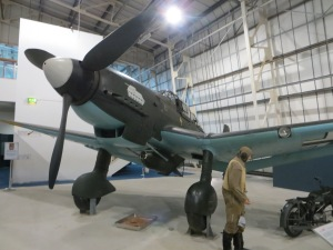A JU87 Stuka, just one of the many rare aircraft at the RAF museum in Hendon, always worth a visit over the winter.