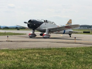The Val replica taxiing out.