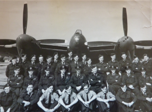 Another shot from my Granddad's collection, of 65 squadron, in front of one of the their Hornets.