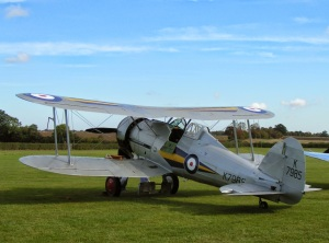 Shuttleworth Gladiator October 2014.