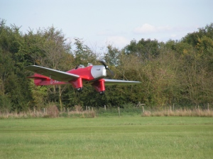 Miles Hawk Major at Old Warden.