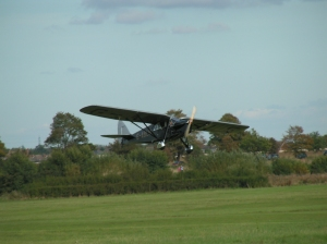 An example of a Puss Moth at Old Warden.