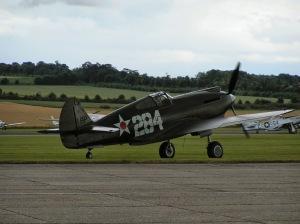 P-40B at Duxford.