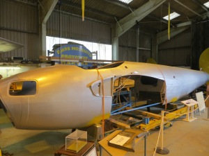 Fuselage of the Mosquito prototype back in October.
