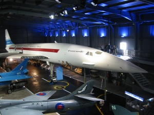 One of the Concorde Prototypes at the Fleet Air Arm Museum, Yeovilton.