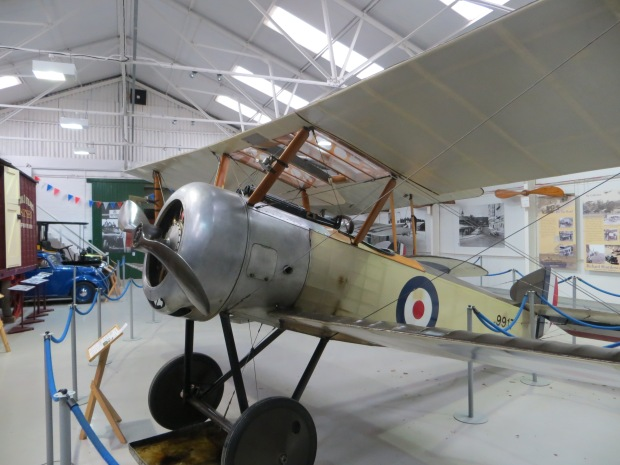 Shuttleworth's Sopwith Pup with its 9C Le Rhône.