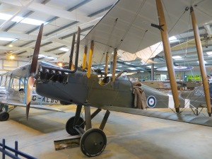 One of World War One Aviation Heritage's BE2s.