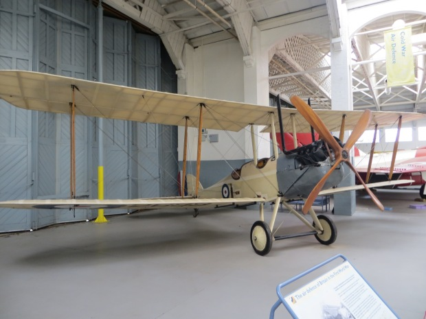 An original Be2c at Duxford. This aircraft is fitted with an R.A.F 1a engine.