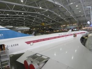 Prototype G-AXDN at Duxford.