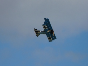One of the Great War Display Team Fokker Dr1s.