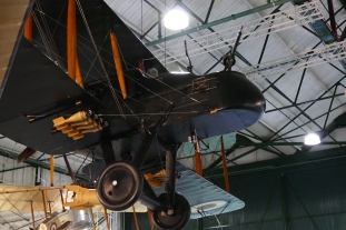 The imposing Bristol FE2b at Hendon.