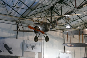 The Sopwith Camel was an unlikely early carrier aircraft.