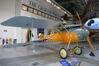 Albatros D.Va at Hendon.
