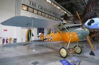 Albatros D.Va at Hendon.