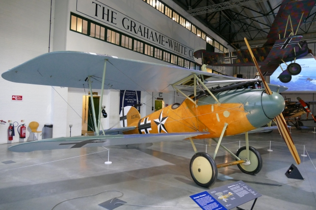 Albatros D.Va, similar to the second aircraft Travers shot down.