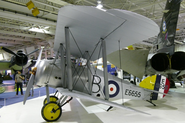 The Sopwith Snipe was the Bentley engine's main aircraft.