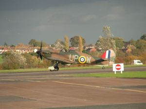 Peter Vacher's Hurricane MK1.