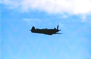 Rolls Royce Spitfire at Filton.