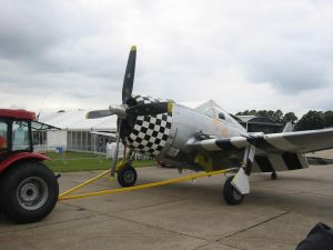 "P-47 ""No Guts No Glory"""