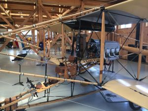 Curtiss pusher at the Military Aviation Museum.