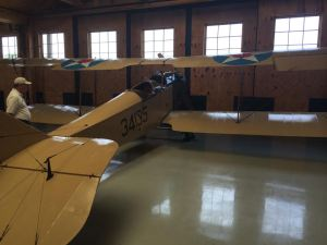 Curtiss Jenny at the Military Aviation Museum.
