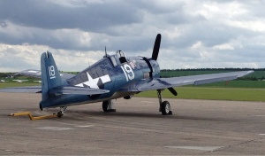 The Hellcat waiting for its first flight on the 23rd May 2014.