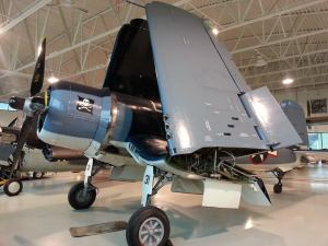 Tom's favourite aircraft from the collection, the Corsair.
