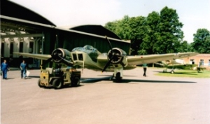 The Blenheim in its past life as a Mk.IV variant.