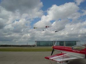 The Turbulent Team Getting airborne.