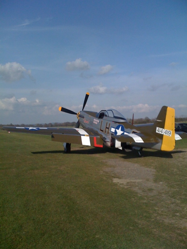 P-51D Janie at Headcorn.