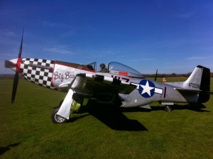 Big Beautiful Doll preparing to depart Headcorn for the last time before moving to Germany.
