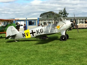 "It isn't just the ""Big Iron"" turning heads at Headcorn: FW44 Steiglitz."