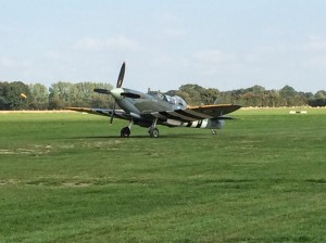 Aero Legends T.9 Spitfire at Headcorn earlier this year.