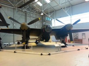 Cosford's Mosquito - photo courtesy of Lyndsay Rumbold.