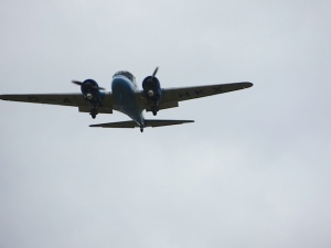 The BAE Systems Avro XIX/Anson put in a surprise appearance.