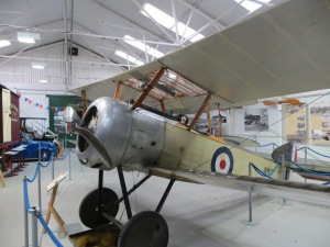 A Sopwith Pup, much like the example which performed the first landings at sea.