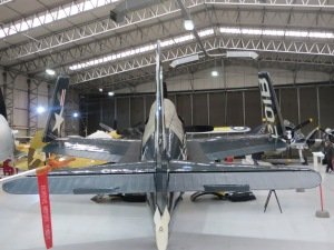 The Fighter Collection's Bearcat performed as the joker for a number of years.