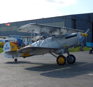 A Hawker Nimrod II at North Weald in 2010.