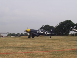 The Fighter Collection's Corsair at Woodchurch in 2006.