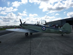 Seafire XVII at North Weald in 2010.