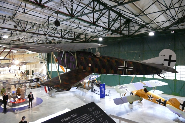 Fokker D.VII. The strongest versions of this type featured the BMW engines.