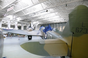 The Blenheim is still awaiting the summer before continuing its test flying.